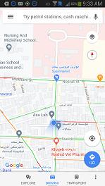 آدرس گالری فرش امین در نقشه تهران